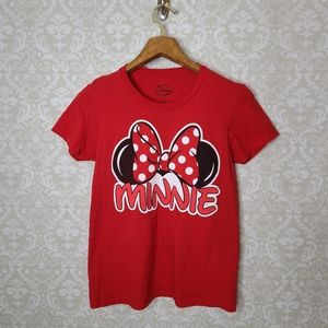 Disney Minnie Mouse Red T-shirt